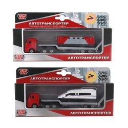 Фото Масштабная модель Камаз Автотранспортер с моделью 7,5 см (SB-15-33)