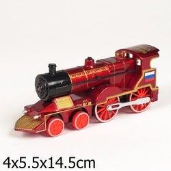 Фото Масштабная модель Паровоз Красная стрела (СТ10-028SB)