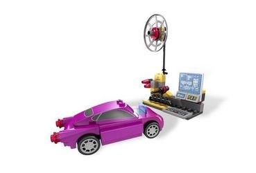 8424 Тачки 2 Шпионский штаб Мэтра (конструктор Lego Cars) фотография 5