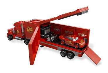 8486 Тачки 2 Трейлер Мака (конструктор Lego Cars) фотография 5