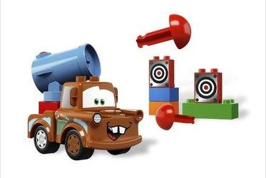 5817 Тачки 2 Агент Мэтр (конструктор Lego Duplo) фотография 1