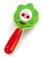 Фото Музыкальная игрушка Трещотка красно-зелёная (76435)