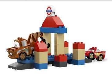 5828 Тачки 2 Большой Бентли (конструктор Lego Duplo) фотография 5