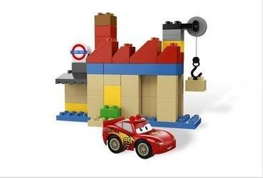 5828 Тачки 2 Большой Бентли (конструктор Lego Duplo) фотография 6