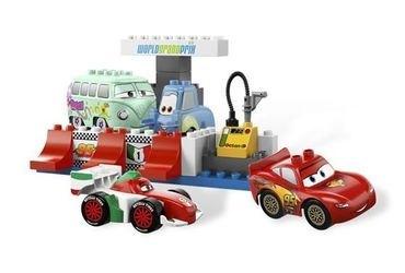 5829 Тачки 2 Пит-стоп (конструктор Lego Duplo) фотография 3