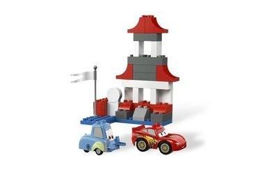 5829 Тачки 2 Пит-стоп (конструктор Lego Duplo) фотография 5