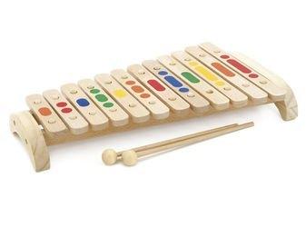 Фото Детский Ксилофон 12 тонов деревянный (Д046)