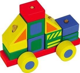 Фото Деревянная игрушка Конструктор-Автомобиль №3 (Д061)