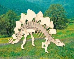 Фото Сборная деревянная модель Стегозавр (Ж016)