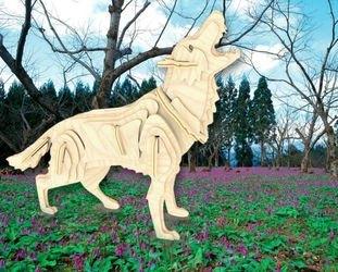 Фото Сборная деревянная модель Волк (М024)