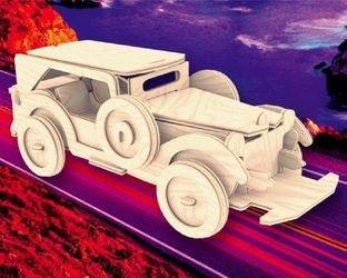 Фото Сборная деревянная модель Форд (П014)