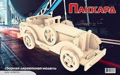 Фото Сборная деревянная модель Пакард (П015)