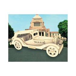 Фото Сборная деревянная модель Автомобиль MG TS (П016)