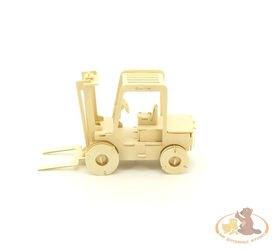 Фото Сборная деревянная модель Автокар (П024)
