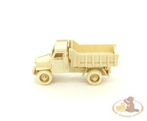 Фото Сборная деревянная модель Грузовик (П026)