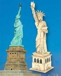 Фото Сборная деревянная модель Статуя Свободы (П031)