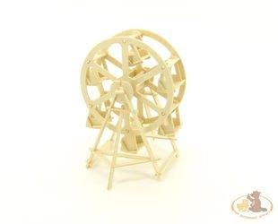 Фото Сборная деревянная модель Колесо обозрения (П033)