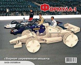 Фото Сборная деревянная модель большая Формула 1 (П081)