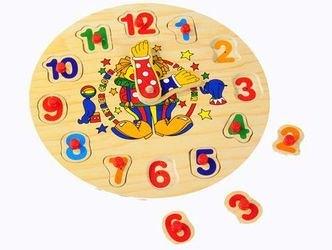 Фото Рамка-вкладыш Часы цифры (Р 02)
