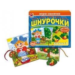 Фото Настольная развивающая игра Шнурочки-5 (С-414)