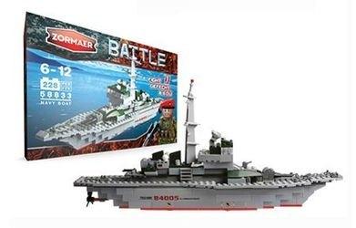Фото Конструктор Battle Сторожевой корабль 228 элементов (58833)