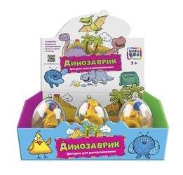 """Фото Набор для раскрашивания """"Динозавр"""" в яйце в ассортименте (62286)"""