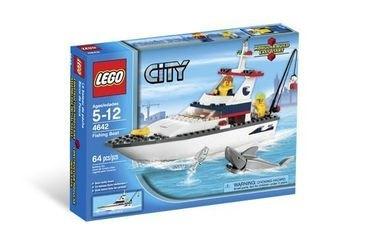 4642 Рыболовное судно (конструктор Lego City) фотография 2