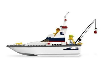 4642 Рыболовное судно (конструктор Lego City) фотография 3