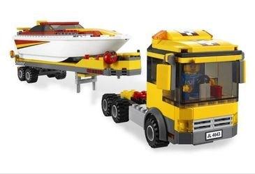 4643 Перевозчик скоростной моторной лодки (конструктор Lego City) фотография 4