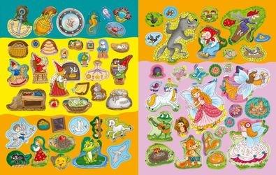 Детская книга занимательных занятий для девочек снаклейками фотография 4