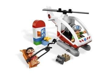 5794 Вертолёт скорой помощи (конструктор Lego Duplo) фотография 1