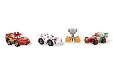 5839 Тачки 2 Мировой Гран-При (конструктор Lego Duplo) фотография 3
