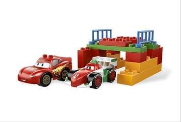 5839 Тачки 2 Мировой Гран-При (конструктор Lego Duplo) фотография 5