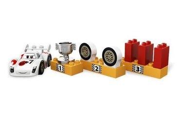 5839 Тачки 2 Мировой Гран-При (конструктор Lego Duplo) фотография 7