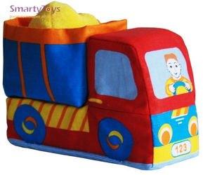 Фото Развивающая игрушка мягкий Грузовичок Мякиши (152)
