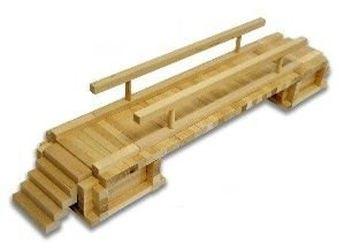 Конструктор деревянный мост деревенский фотография 1