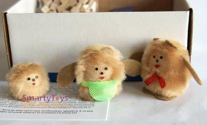 Конструктор Избушка три медведя с медведями фотография 3