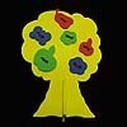 Фото Игрушка шнуровка мягкая Дерево с плодами
