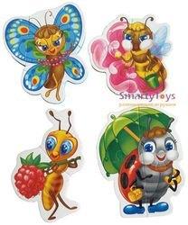 Мягкие пазлы Забавные насекомые фотография 3