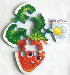 Мягкие пазлы Ягоды-фрукты фотография 4