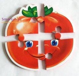 Мягкие пазлы Овощи фотография 4