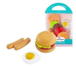 Фото Игровой набор продуктов в сумке Фаст-фуд (453031)