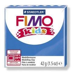 """Фото Полимерная глина для детей FIMO kids """"Синяя"""" 42 гр. (8030-3)"""