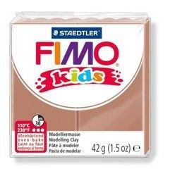 """Фото Полимерная глина для детей FIMO kids """"Светло-коричневая"""" 42 гр. (8030-71)"""