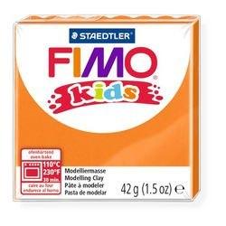 """Фото Полимерная глина для детей FIMO kids """"Оранжевая"""" 42 гр. (8030-4)"""
