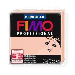 """Фото Пластика для изготовления кукол """"Полупрозрачная розовая"""" 85 гр. (FIMO professional doll art 8027-432)"""