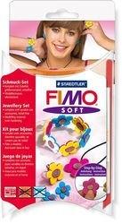 """Фото Набор для создания украшения """"Цветы"""" (FIMO Soft 8023 84)"""