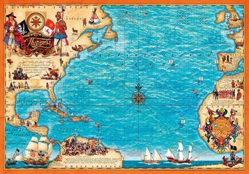 Настольная игра Пираты Голицына фотография 2