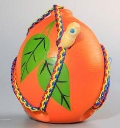 Фото Шнуровка деревянная Апельсин объемная (Ш-070)