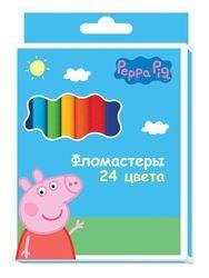 Фото Набор фломастеров Свинка Пеппа 24 цвета (29005)
